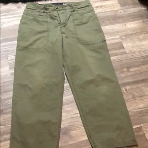 Levi's Silver Tab Olive Jeans